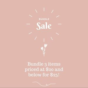 ✨BUNDLE SALE✨